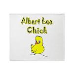 Albert Lea Chick Shop Throw Blanket