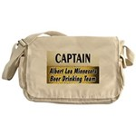 Albert Lea Beer Drinking Team Messenger Bag