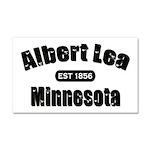 Albert Lea Established 1856 Car Magnet 20 x 12