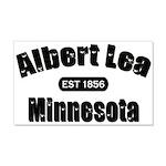 Albert Lea Established 1856 22x14 Wall Peel