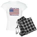 Albert Lea US Flag Women's Light Pajamas