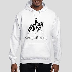 Dances With Horses Hooded Sweatshirt