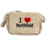 I Love Northfield Messenger Bag