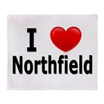 I Love Northfield Throw Blanket
