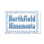 Northfield Minnesnowta Car Magnet 20 x 12