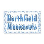 Northfield Minnesnowta 22x14 Wall Peel