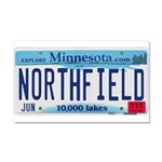 Northfield License Plate Car Magnet 20 x 12
