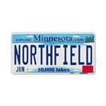 Northfield License Plate Aluminum License Plate