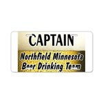 Northfield Beer Drinking Team Aluminum License Pla