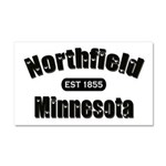 Northfield Established 1855 Car Magnet 20 x 12