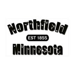 Northfield Established 1855 38.5 x 24.5 Wall Peel