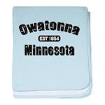 Owatonna Established 1854 baby blanket