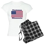 Owatonna US Flag Women's Light Pajamas