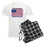 Owatonna US Flag Men's Light Pajamas