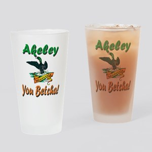 Akeley 'You Betcha' Loon Drinking Glass