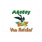 Akeley 'You Betcha' Loon 38.5 x 24.5 Wall Peel