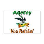 Akeley 'You Betcha' Loon 22x14 Wall Peel