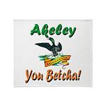 Akeley 'You Betcha' Loon Throw Blanket