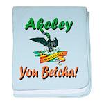 Akeley 'You Betcha' Loon baby blanket