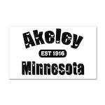 Akeley Established 1916 Car Magnet 20 x 12