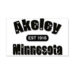 Akeley Established 1916 22x14 Wall Peel