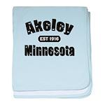 Akeley Established 1916 baby blanket