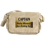 Akeley Beer Drinking Team Messenger Bag