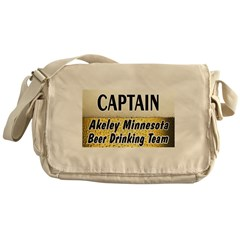 Akeley Beer Drinking Team Messenger Bag