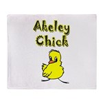Akeley Chick Throw Blanket