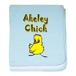 Akeley Chick baby blanket
