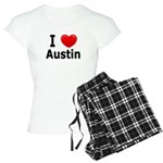 I Love Austin Women's Light Pajamas