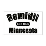 I Love Bemidji 22x14 Wall Peel