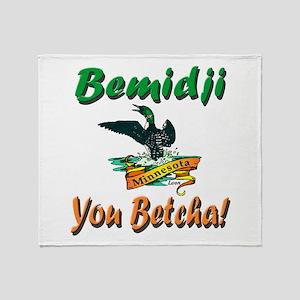 Bemidji 'You Betcha' Throw Blanket