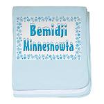 Bemidji Minnesnowta baby blanket