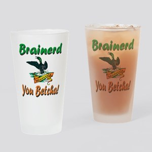 Brainerd 'You Betcha' Drinking Glass