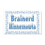 Brainerd Minnesnowta Car Magnet 20 x 12
