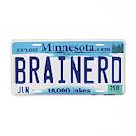 Brainerd License Plate Aluminum License Plate