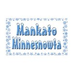Mankato Minnesnowta 38.5 x 24.5 Wall Peel