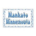 Mankato Minnesnowta 22x14 Wall Peel