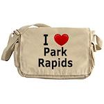 I Love Park Rapids Messenger Bag