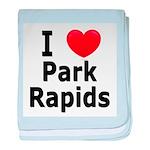 I Love Park Rapids baby blanket