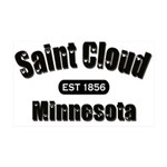 I Love Saint Cloud 38.5 x 24.5 Wall Peel