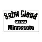 I Love Saint Cloud 22x14 Wall Peel