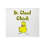 I Love Saint Cloud Throw Blanket
