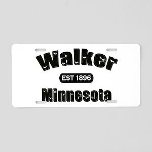I Love Walker Aluminum License Plate