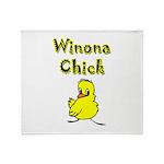 I Love Winona Throw Blanket