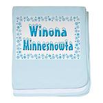 Winona Minnesnowta baby blanket