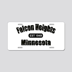 Falcon Heights Est 1949 Aluminum License Plate