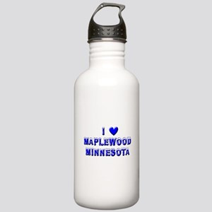 I Love Maplewood Stainless Water Bottle 1.0L
