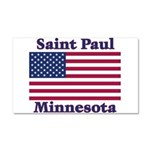 I Love Saint Paul Car Magnet 20 x 12
